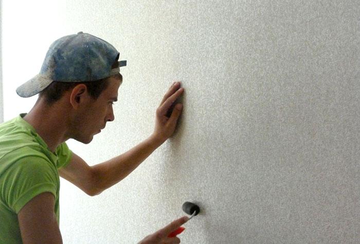 Технология оклейки стен обоями
