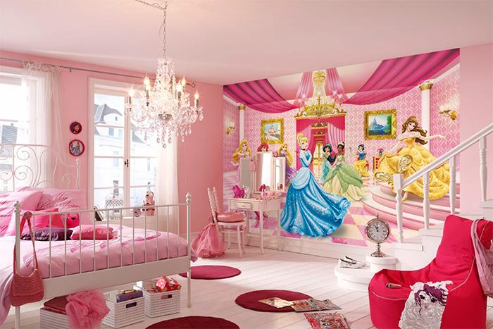Комната для девочки с фотообями