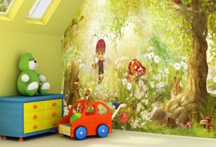 Обои в детскую комнату: оригинальные варианты для мальчиков и девочек