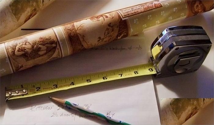 Подсчет количества обоев для ремонтных работ