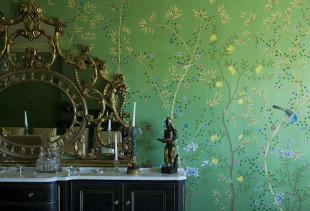 Основные правила декорирования стен с помощью зеленых обоев