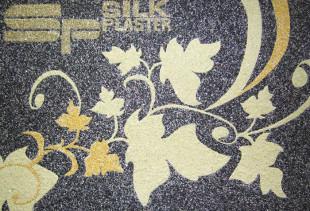 Как оформить комнату жидкими обоями Silk Plaster?