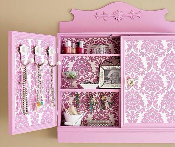 Шкаф для бижутерии и косметики