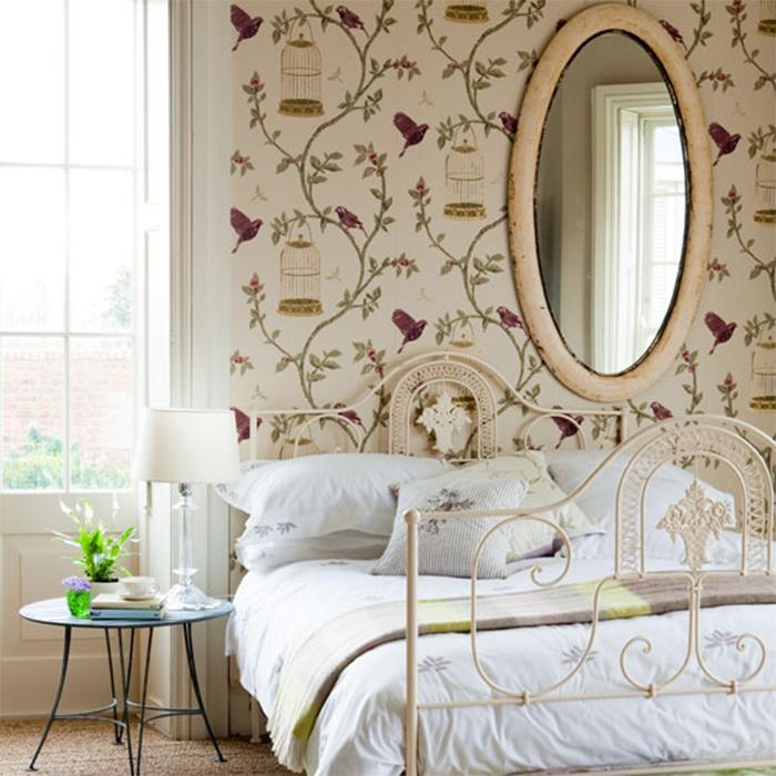 Спальная комната во французском стиле