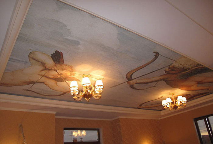 Фреска на потолке
