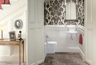 Подбираем обои для оригинального дизайна туалета
