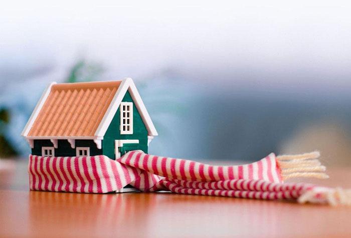 Утепленный дом