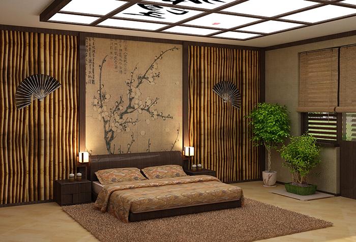 Японские обои для стен