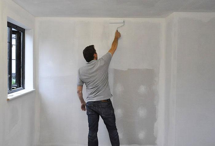 Грунтовка стен своими руками фото