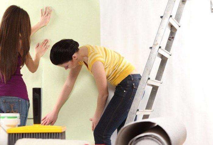 инструкция по поклейке флизелиновых обоев - фото 2