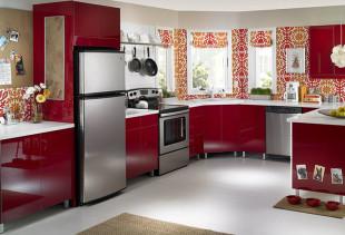 5 приемов для комбинирования обоев на кухне