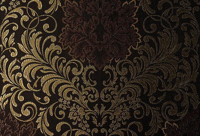 Темные текстильные обои