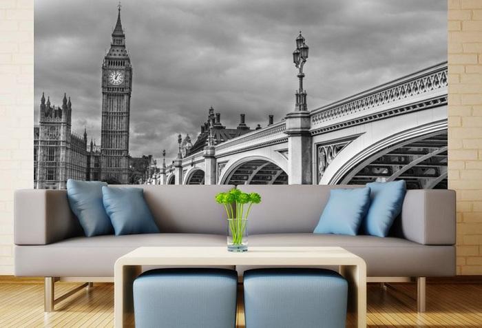 обои с изображением Лондонского моста