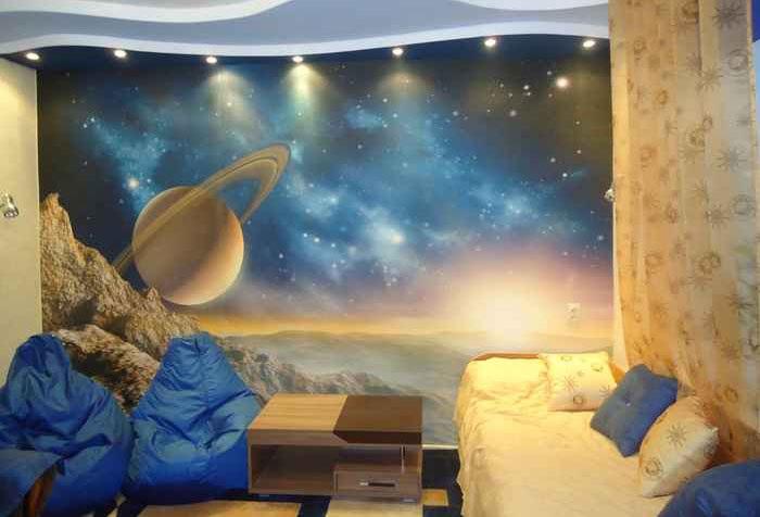 обои с изображением ночного неба