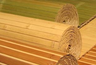 Особенности отделки стен бамбуковыми обоями