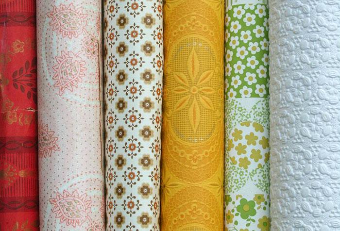Разновидности бумажных обоев