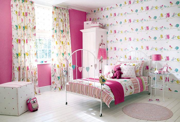 Интерьер комнаты девочки