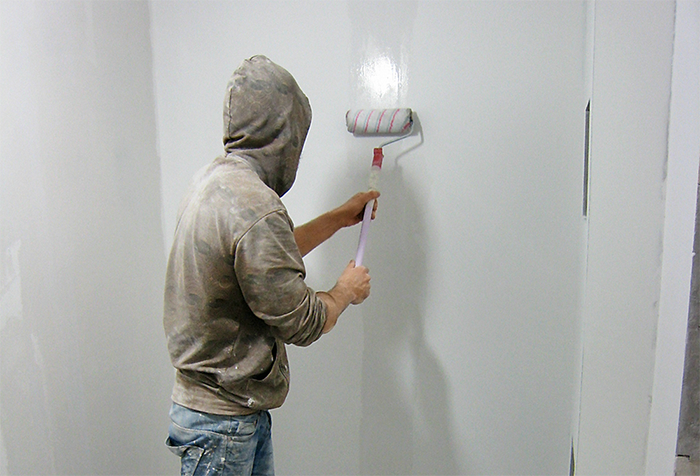 Подготовка стены под обои