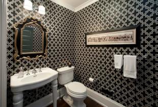 Как выбрать обои в ванную комнату?