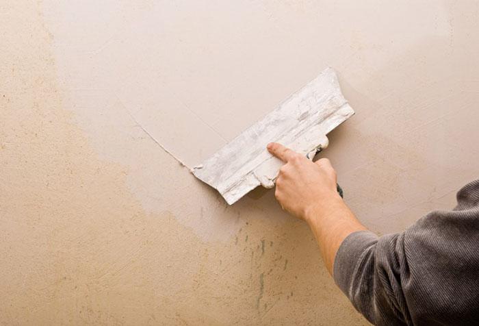 Шпатлевание стен из ОСБ