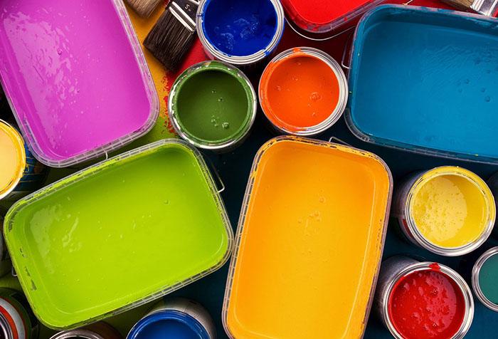 Краска разных видов