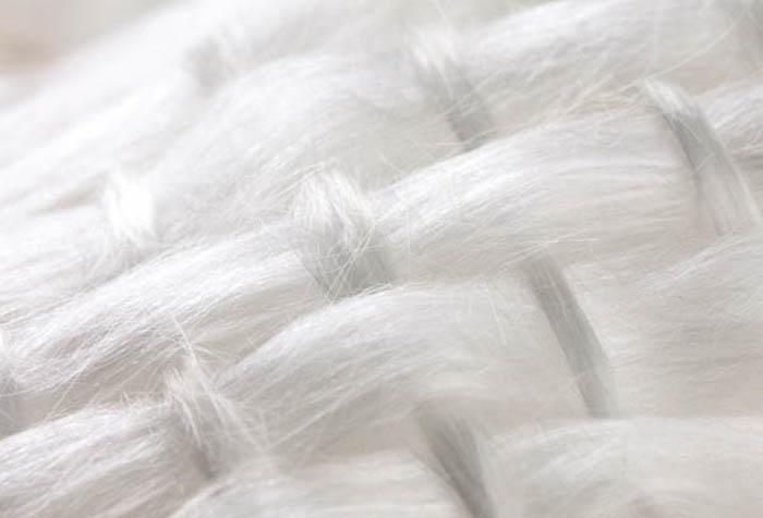 Текстура стеклотканевых обоев