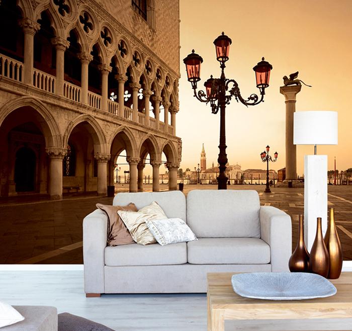 Фотообои с видом площади Св. Марка в Венеции