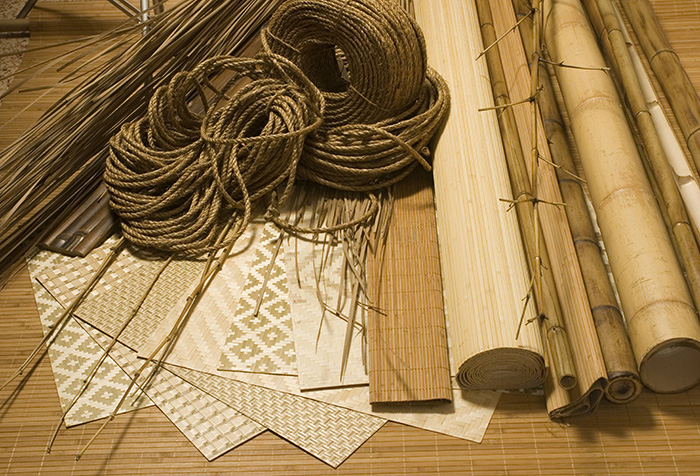 Материалы для отделки стен в японском стиле