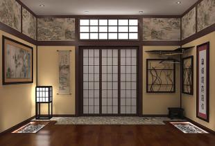 Все, что вы хотели знать об обоях и интерьере в японском стиле