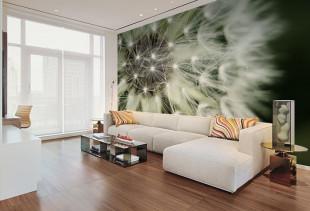 Оживляем интерьер с помощью современных фотообоев для зала