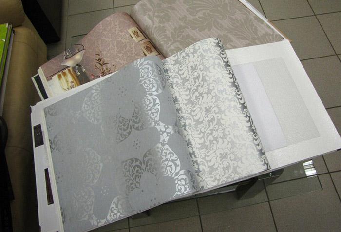 Выбор текстуры обоев