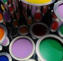Водоэмульсионная краска в банках