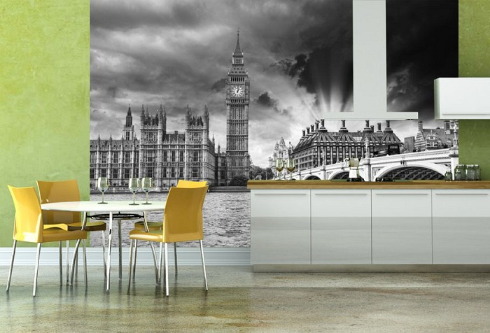 обои с изображением Лондона