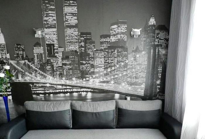 ночной New York обои