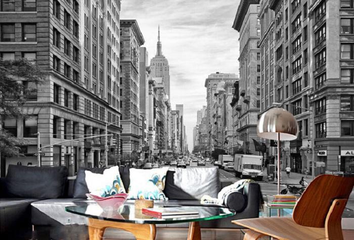 обои с изображением Уолл-стрит