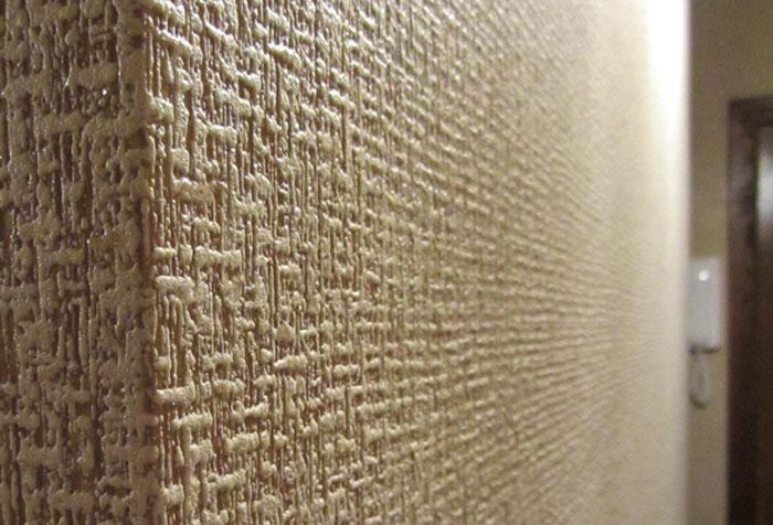 Текстура обоев из вспененного винила