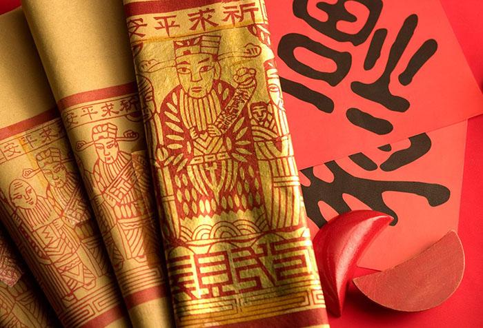 Китайские бумажные обои