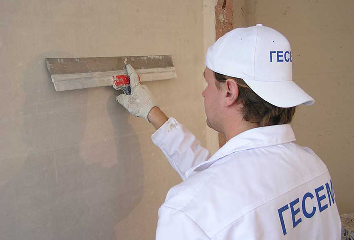Подготовка стен в помещении